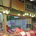 武田鮮魚店 - ヒトなど トリミング 店頭