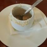 50495684 - 食べ終わっちゃったキノコスープ