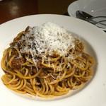 マーケットレストランAGIO - ミートソースのスパゲッティ