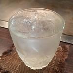 1029 - 2杯目:芋焼酎ロック 千亀女 650円(税抜)