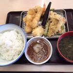 Santen - 「グランドスラム天ぷら定食」
