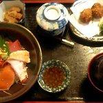 厨 - 海鮮丼セット