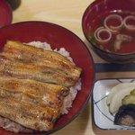 菱竹 トライ - うなぎ丼(上)