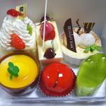 リビドー洋菓子店 - ケーキたち