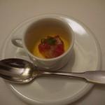 オザワ - 料理写真:最初のひとくち