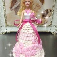 プリンセスケーキ アリス - バービーケーキ
