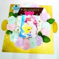 プリンセスケーキ アリス - アリエルのケーキ
