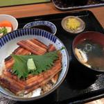海鮮食堂 魚増 - 焼穴子丼定食 1000円