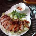 彩 台湾屋台料理 - 2016/05/02 11:30訪問 〇猪肉 原住民焼き豚¥980