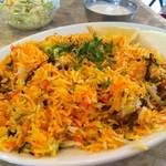 インドヤレストラン - チキンビリヤニセット