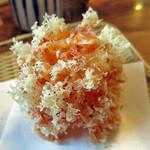 昧怛隷野 - 桜海老のかき揚げ! 美しい美味い!