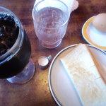 喫茶・軽食 あかり - 料理写真:アイスコーヒー(モーニング)
