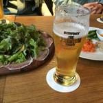 50511215 - 生ハムサラダ&ビール