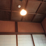 コノフォレスタ  - 照明も昭和チックです(^^;;