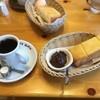 Komedakohiten - 料理写真:ブレンドと小倉あんつきトースト