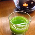 宇治茶の山田園茶舗 - グリーンティー¥50