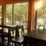 コーローカフェ - 外の景色