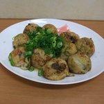雅たこ - 料理写真:たこ焼き10コ550円秘伝だし醤油(ねぎかけ)