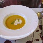 5052985 - カボチャの冷たいスープ