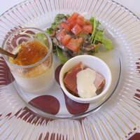 プチレストラン 雅司亭-前菜三種