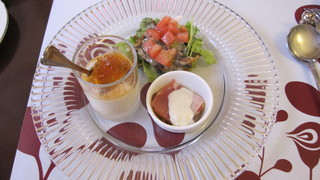 プチレストラン 雅司亭 - 前菜三種