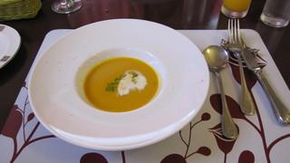 プチレストラン 雅司亭 - カボチャの冷たいスープ