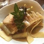 ひょうたん池 - 筍とふきの煮物