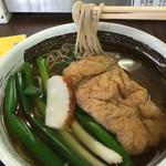 sobadokorokinugasa - たぬき蕎麦