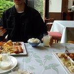 レイクサイドホテル久山 レストラン 湖翠 - 料理。
