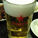 きんちゃん - 生ビールはたっぷり。
