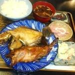 美加久 - カワハギとカサゴの煮付け
