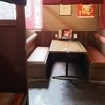 道楽かぬま ブルートステーキ - テーブル席