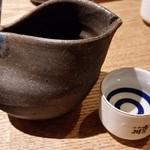 大衆割烹TAKEYA - TAKEYAのの日本酒2合用。