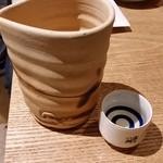 大衆割烹TAKEYA - TAKEYAの日本酒1合用。