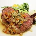 50527643 - オーストラリア産 仔羊モモ肉のじっくりロースト パリのビストロスタイル