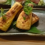 クニカゲ - 炭火焼きタケノコ