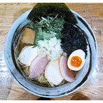 こがね - 「鶏塩ラーメン」(2016.04)