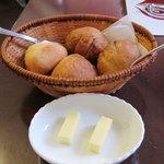 プチレストラン 雅司亭 - 自家製パン2種類