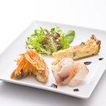 デリス愛鷹亭 - 料理写真:一口オードヴル 一例