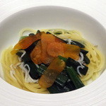 50530929 - プリモ1:細麺フェデリーニしらすとからすみ