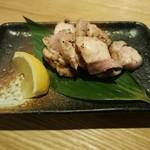 炙り屋 五丁目 澤乃日 - ももの炙り焼き