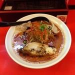 50535012 - 辛口ガチ味噌肉そば