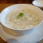 50537371 - タラバ蟹入りコーンスープ