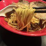 50537519 - 魚介ブラック 麺リフト