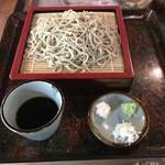 丸西屋 - 料理写真:ざる蕎麦