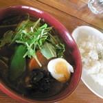 ケラン - アジアンスープカレー チキン(980円+50円)