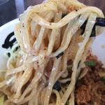 50542250 - 台湾塩まぜそば→麺リフト!