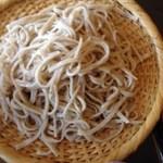 増田屋 - 料理写真:限定20食の手打ち蕎麦♪