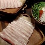 温炊き さんずい - 国産豚つゆしゃぶ 980円×4