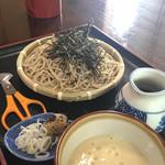 そば処北の下 - 料理写真:大和芋とろろそば